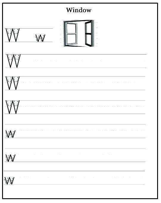 Letter W Worksheets for Preschoolers New 13 Awesome Letter W Worksheets for You