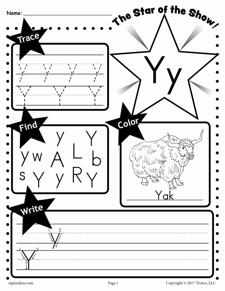 Letter Y Worksheets for Preschoolers Beautiful Worksheets Letter Y Worksheet Cheatslist Free Worksheets
