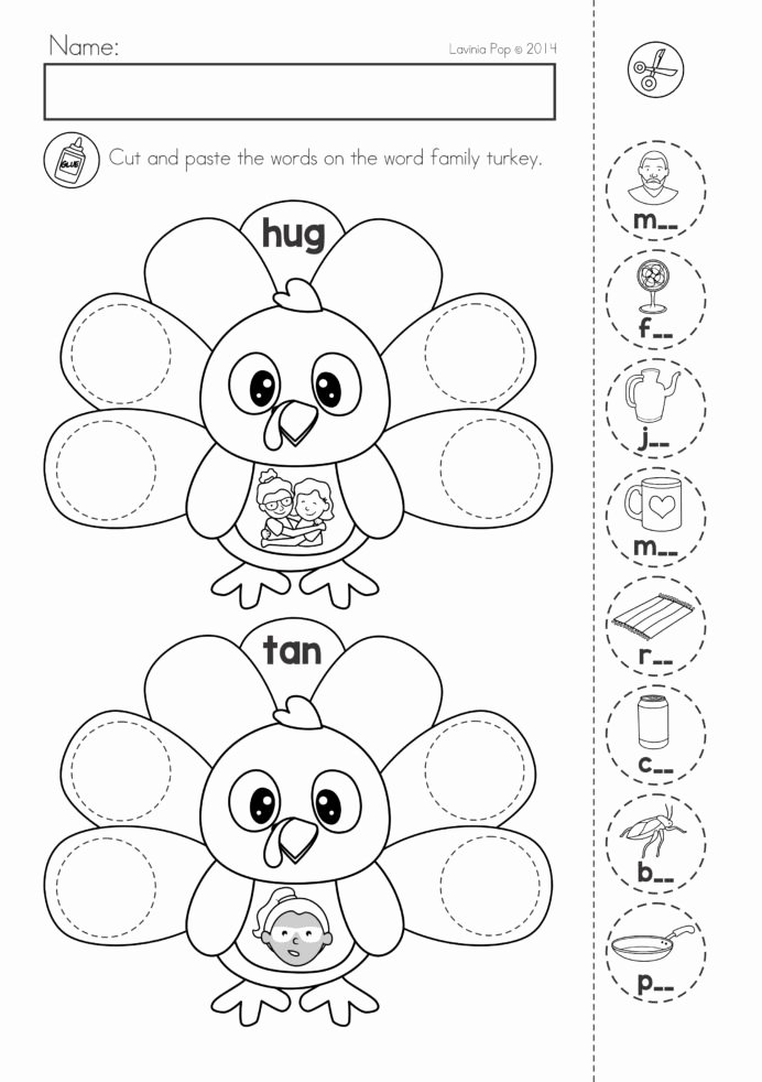 Literacy Worksheets for Preschoolers Awesome Thanksgiving Math Literacy Worksheets and Activities