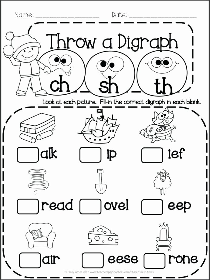 Literacy Worksheets for Preschoolers Fresh Primary Math Pi Worksheets Printable Fun for 1st Grade 5th