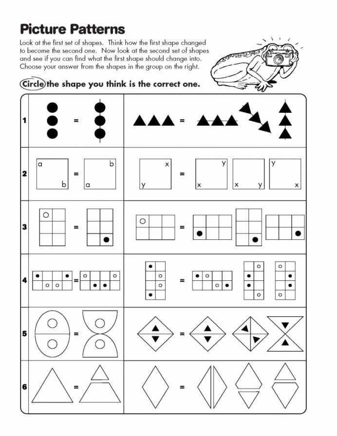 Logical Thinking Worksheets for Preschoolers Awesome Logical Thinking Questions for Tests and Worksheets Critical