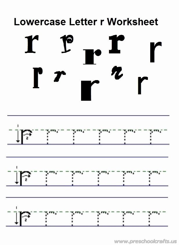 Lowercase Letters Worksheets for Preschoolers Best Of 20 Kindergarten Lowercase Letters Worksheets
