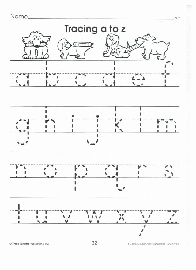 Lowercase Letters Worksheets for Preschoolers Lovely 1 Abc Printing Both Upper Case and Lower Case Letters