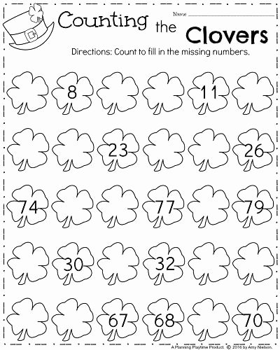 March Worksheets for Preschoolers Beautiful March Kindergarten Worksheets Planning Playtime