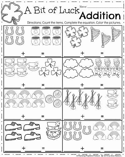 March Worksheets for Preschoolers New March Kindergarten Worksheets Planning Playtime