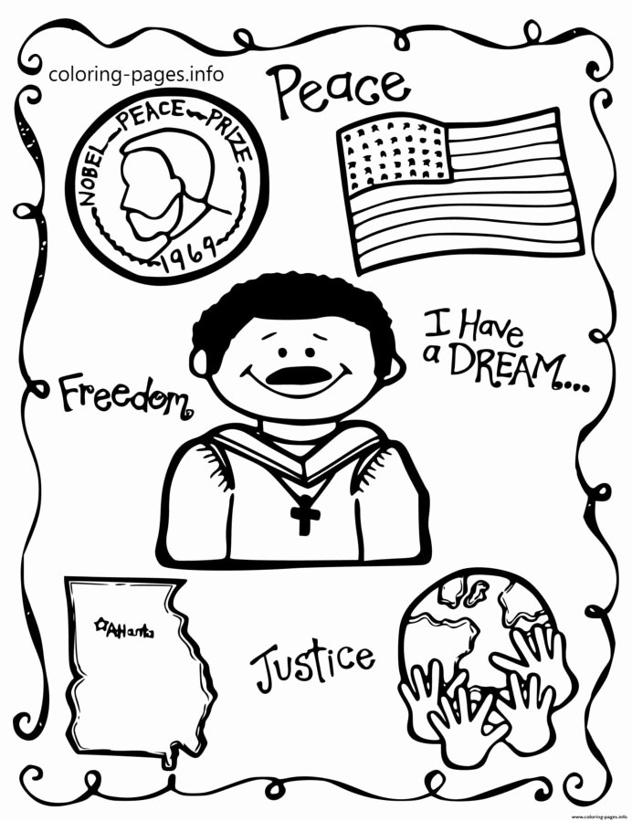 Martin Luther King Worksheets for Preschoolers Awesome Luther Jr Printable Worksheets and Activities for Reading