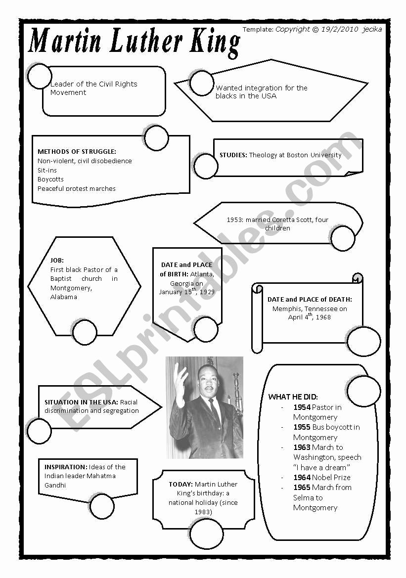 Martin Luther King Worksheets for Preschoolers top Coloring Sheet Free Martin Luther King Worksheets Elementary