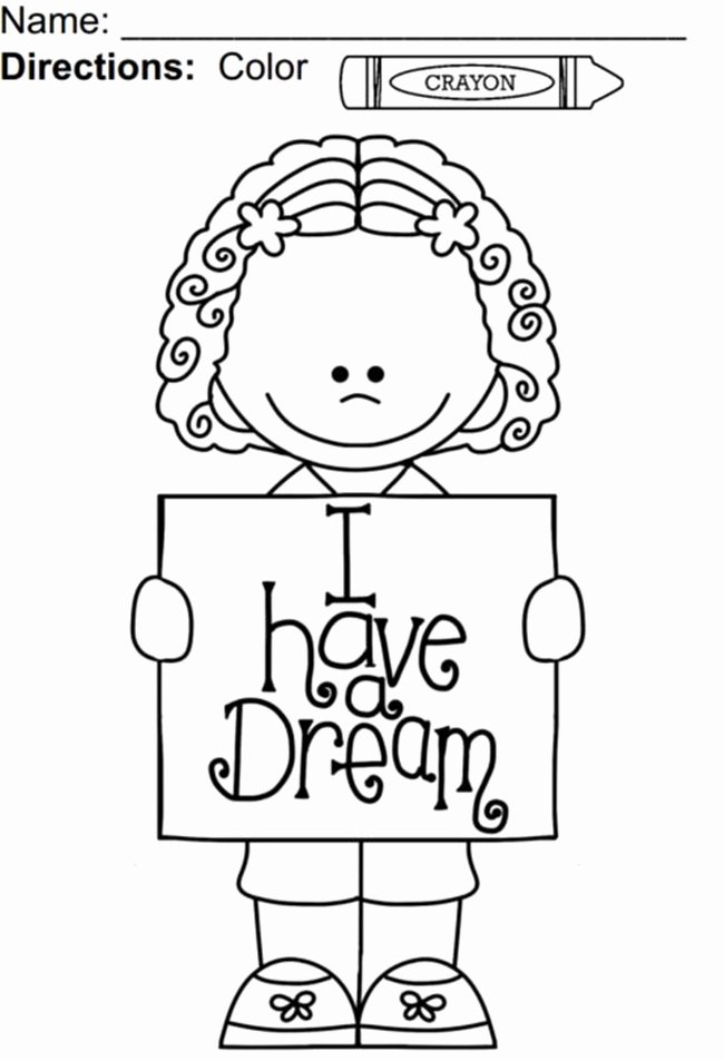 Martin Luther King Worksheets for Preschoolers top Luther Jr Coloring and Worksheets Best for Kids Preschoolers