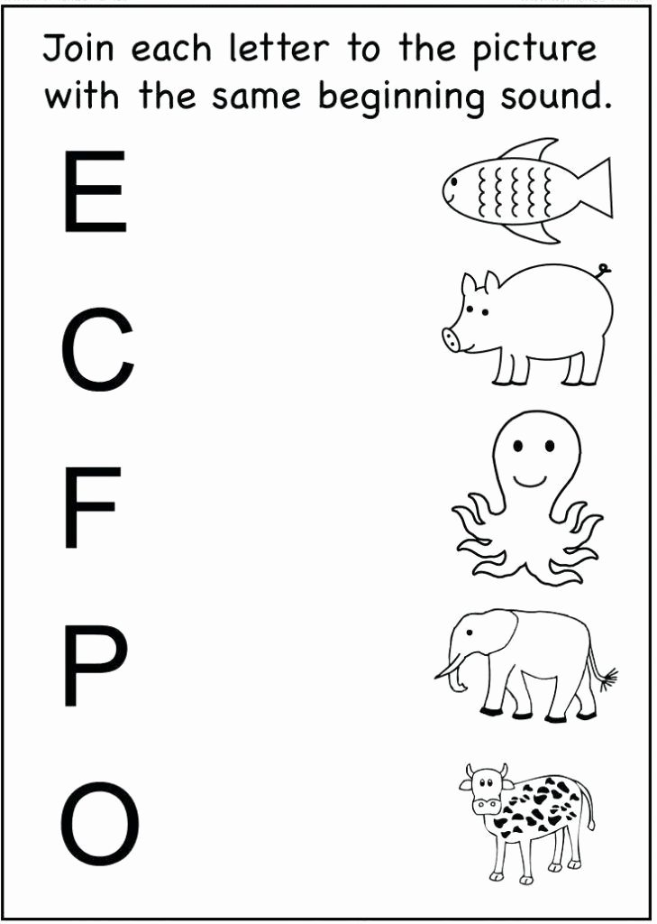 Matching Letters Worksheets for Preschoolers Unique Alphabet Worksheets Best Coloring Pages for Kids