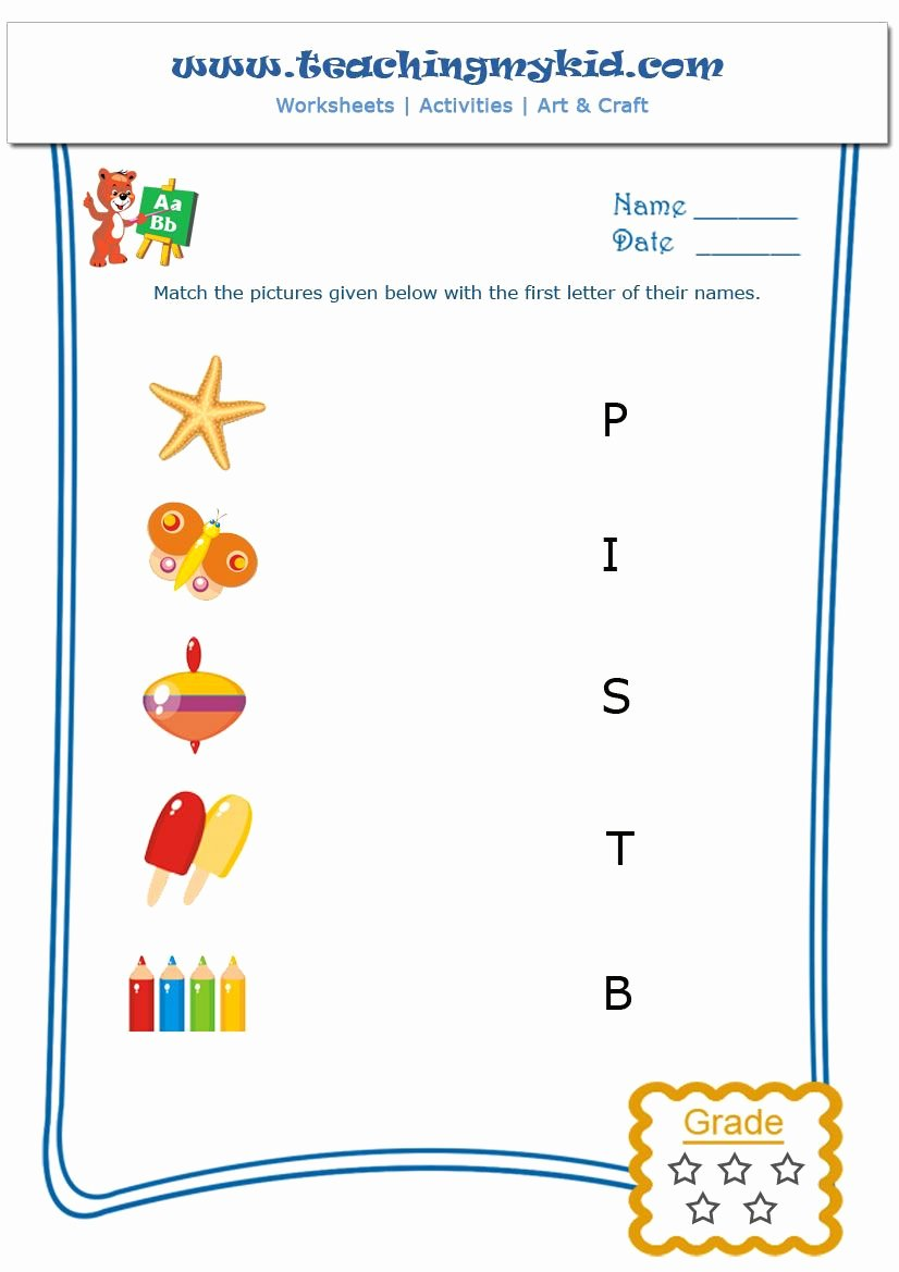 Matching Objects Worksheets for Preschoolers top Free Printable English Worksheet Match the Objects with In