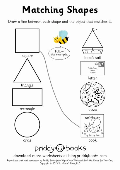 Matching Shapes Worksheets for Preschoolers Beautiful 28 [ Matching Shapes Worksheets ]