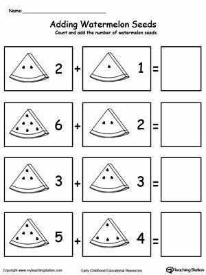 Math Worksheets for Preschoolers top Preschool Addition Printable Worksheets