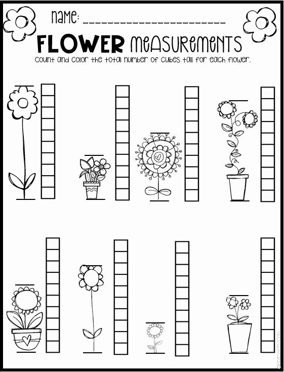 Mathematics Worksheets for Preschoolers Lovely Spring Math and Literacy Worksheets for Preschool Distance