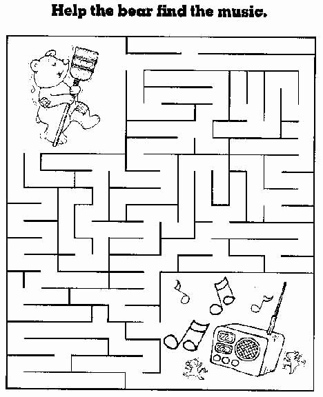 Maze Worksheets for Preschoolers Best Of Free Printable Mazes for Kids