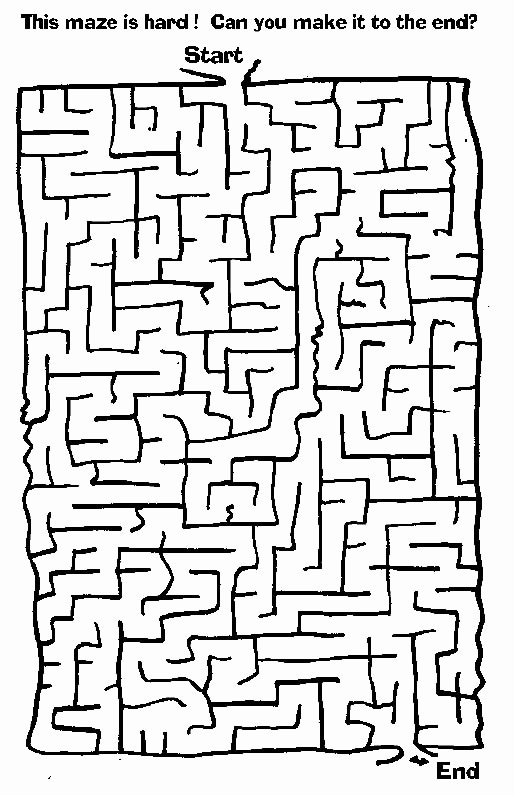 Maze Worksheets for Preschoolers Fresh Free Printable Mazes for Kids All Network Maze Worksheets