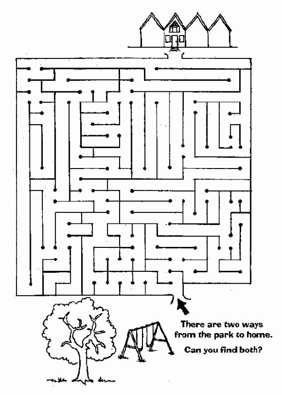Maze Worksheets for Preschoolers Lovely Free Printable Mazes for Kids