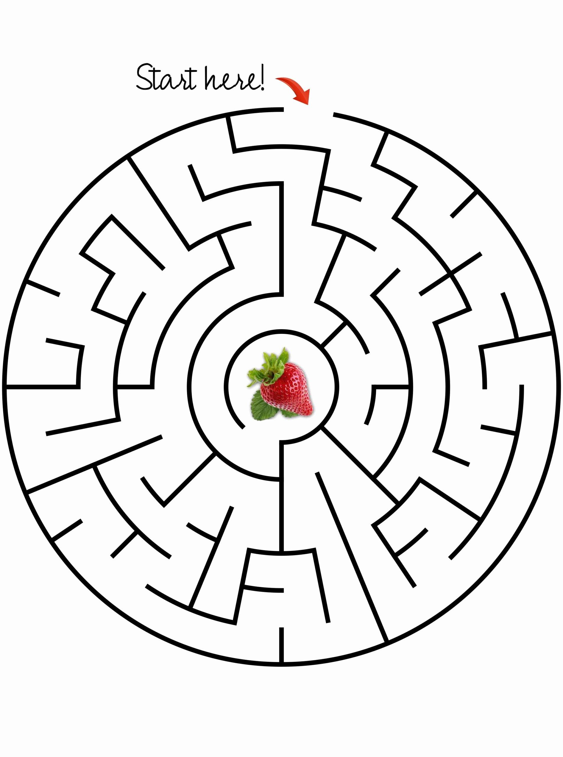 Maze Worksheets for Preschoolers top Worksheet Preschool Maze Printable Worksheets and Activities