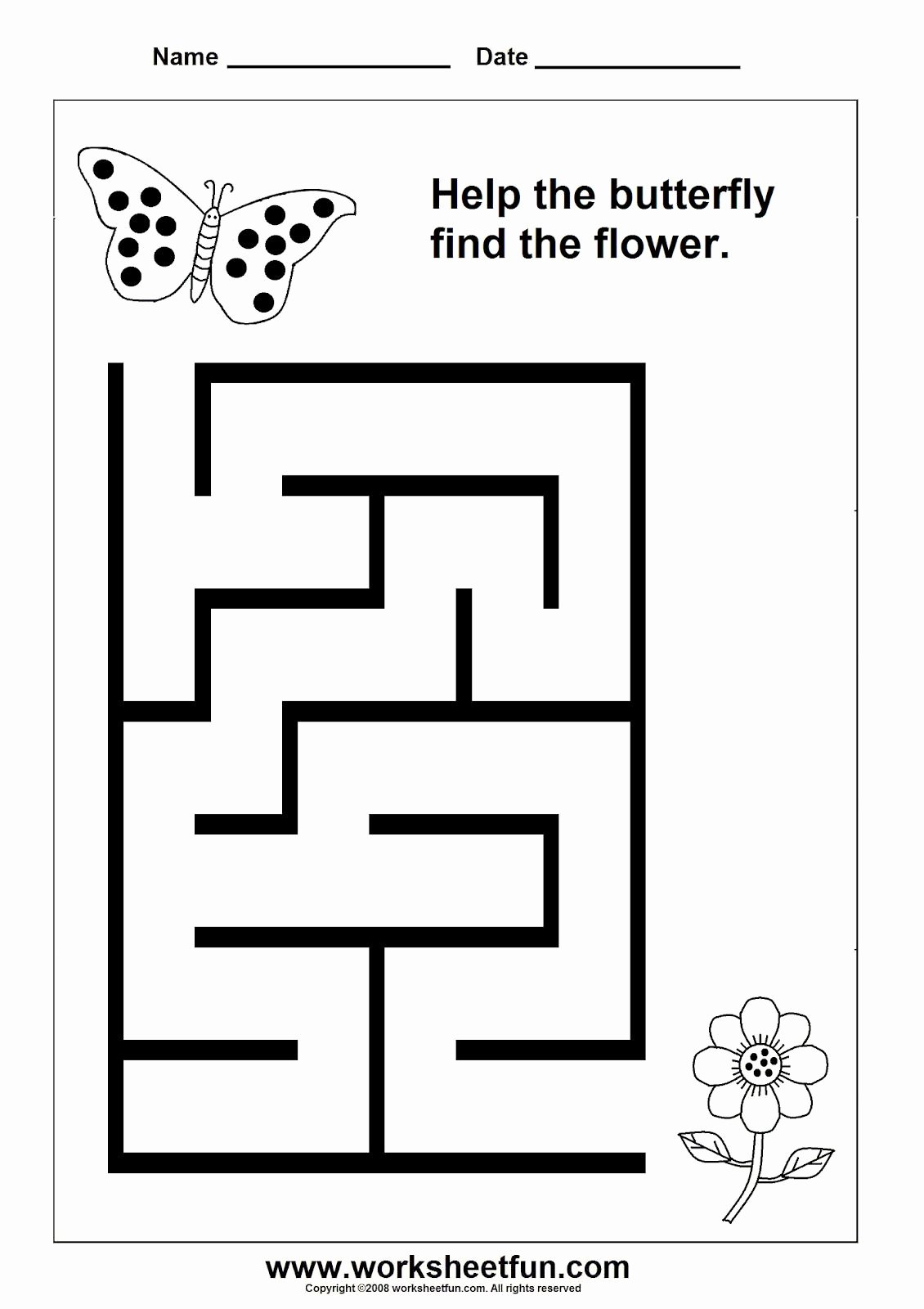 Maze Worksheets for Preschoolers Unique Pin by Sarammm On ب