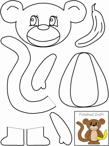 Monkey Worksheets for Preschoolers Best Of Pin On Patterns