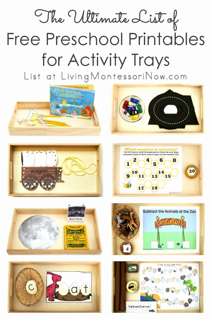 Montessori Worksheets for Preschoolers Beautiful the Ultimate List Of Free Preschool Printables for Activity