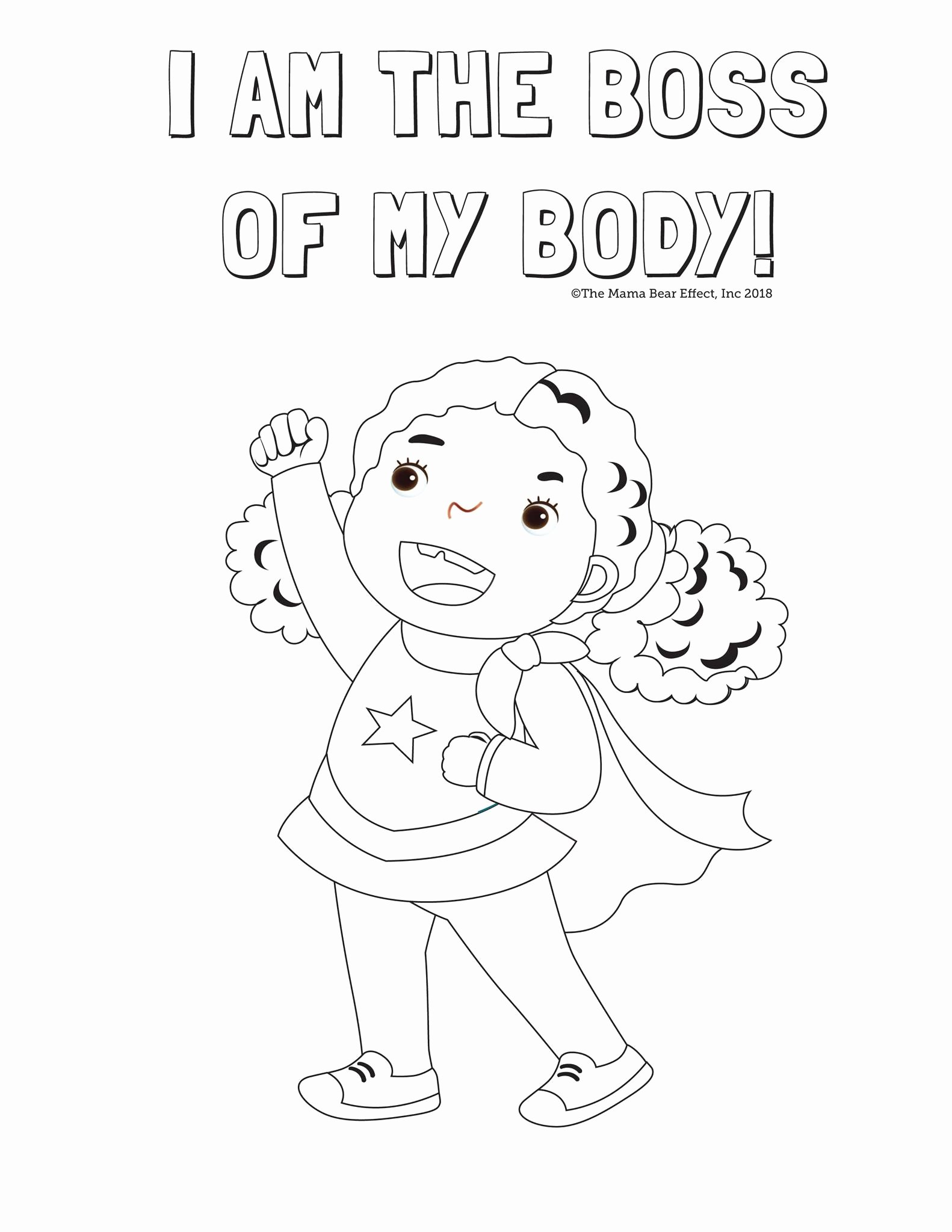 My Body Worksheets for Preschoolers Fresh Coloring the Mama Bear Effect Body Parts for Worksheets