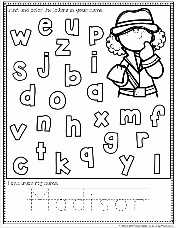 Name Worksheets for Preschoolers New Coloring Pages 58 Name Tracing Worksheets for Preschool