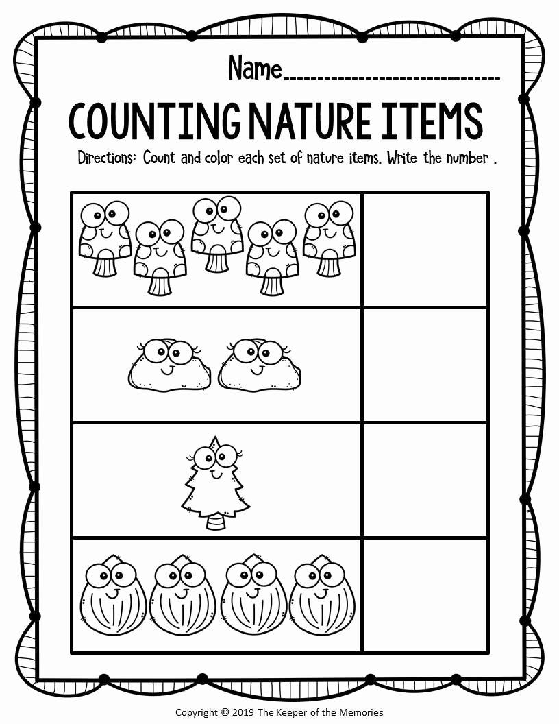 Nature Worksheets for Preschoolers Inspirational Free Printable Worksheets for Preschool & Kindergarten