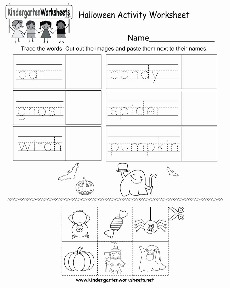 Near and Far Worksheets for Preschoolers Fresh Free Printable Halloween Math Worksheets for Kindergarten Di