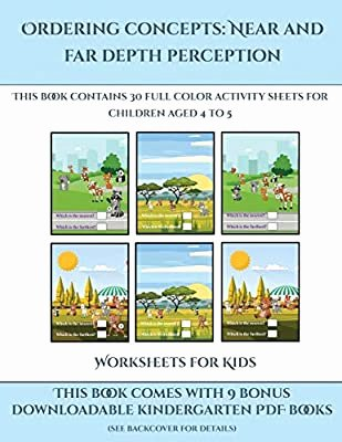Near and Far Worksheets for Preschoolers top Worksheets for Kids ordering Concepts Near and Far Depth
