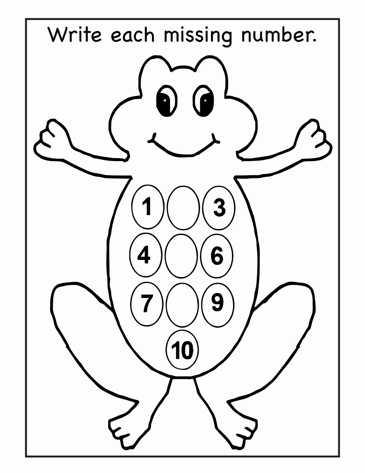 Number 10 Worksheets for Preschoolers Beautiful Worksheets Number Worksheet Missing Printable Worksheets