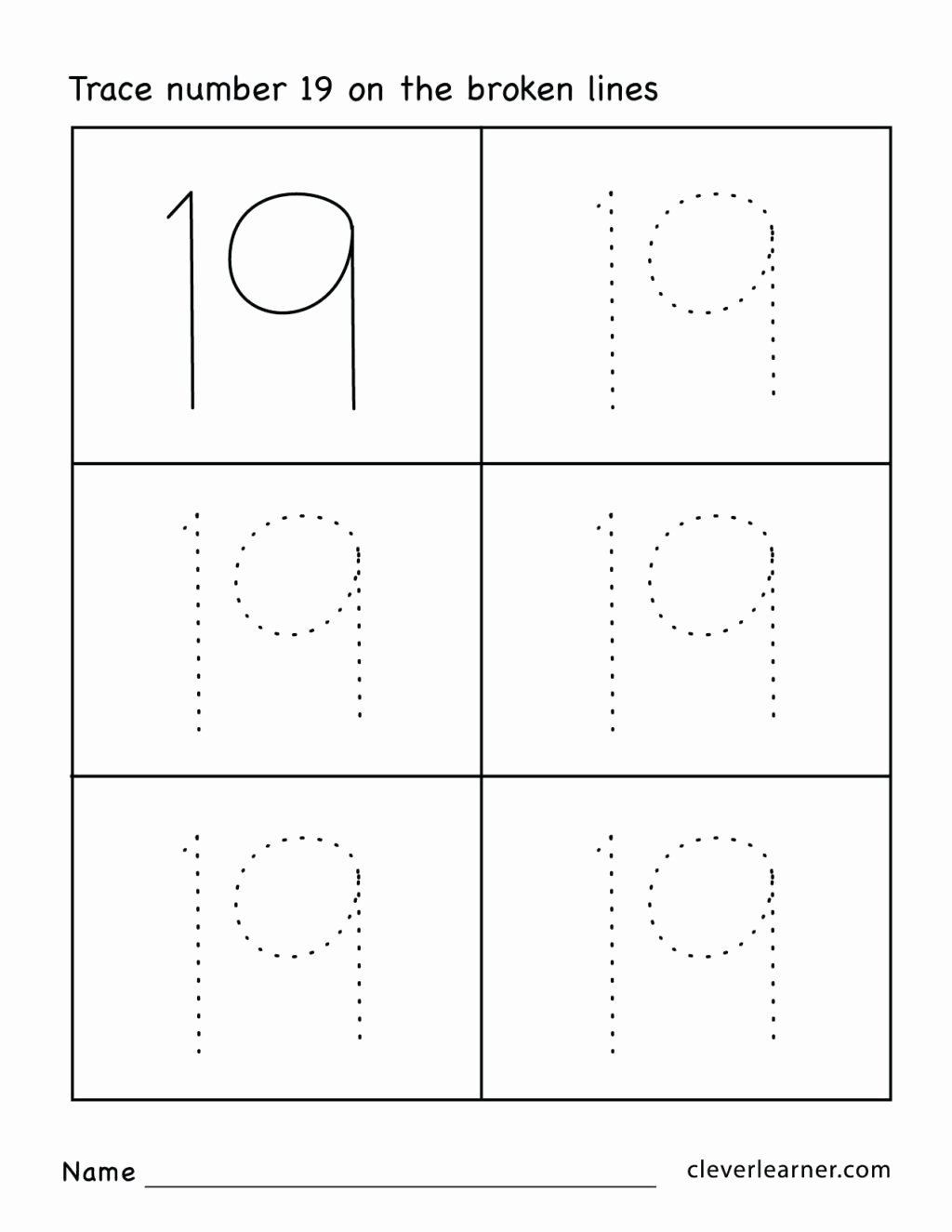 Number 19 Worksheets for Preschoolers Awesome Worksheet Worksheet Preschoolksheets Age to Download