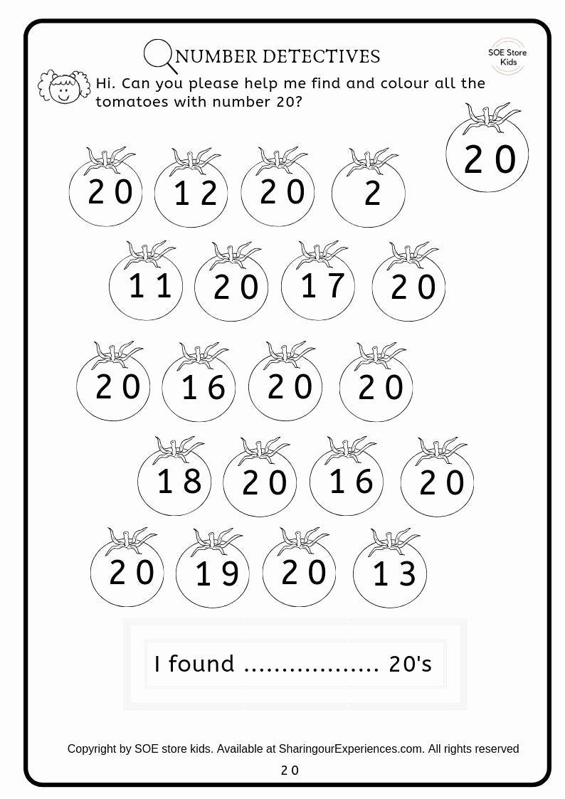 Number 19 Worksheets for Preschoolers Unique Worksheet Mathematics Preschoolksheets Buy Activity Book