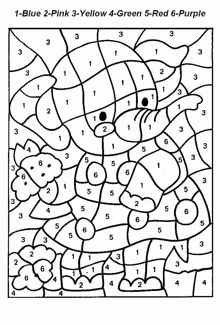 Number Coloring Worksheets for Preschoolers top Everyone Loves Color by Numbers Kids and Adults Alike It S
