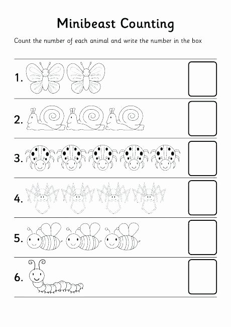 Number Counting Worksheets for Preschoolers Lovely Pre Tracing Worksheets Kindergarten Number Christmas Tree