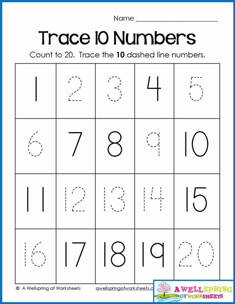 Number Counting Worksheets for Preschoolers New Printable Counting Worksheets Preschool 1 20 Counting