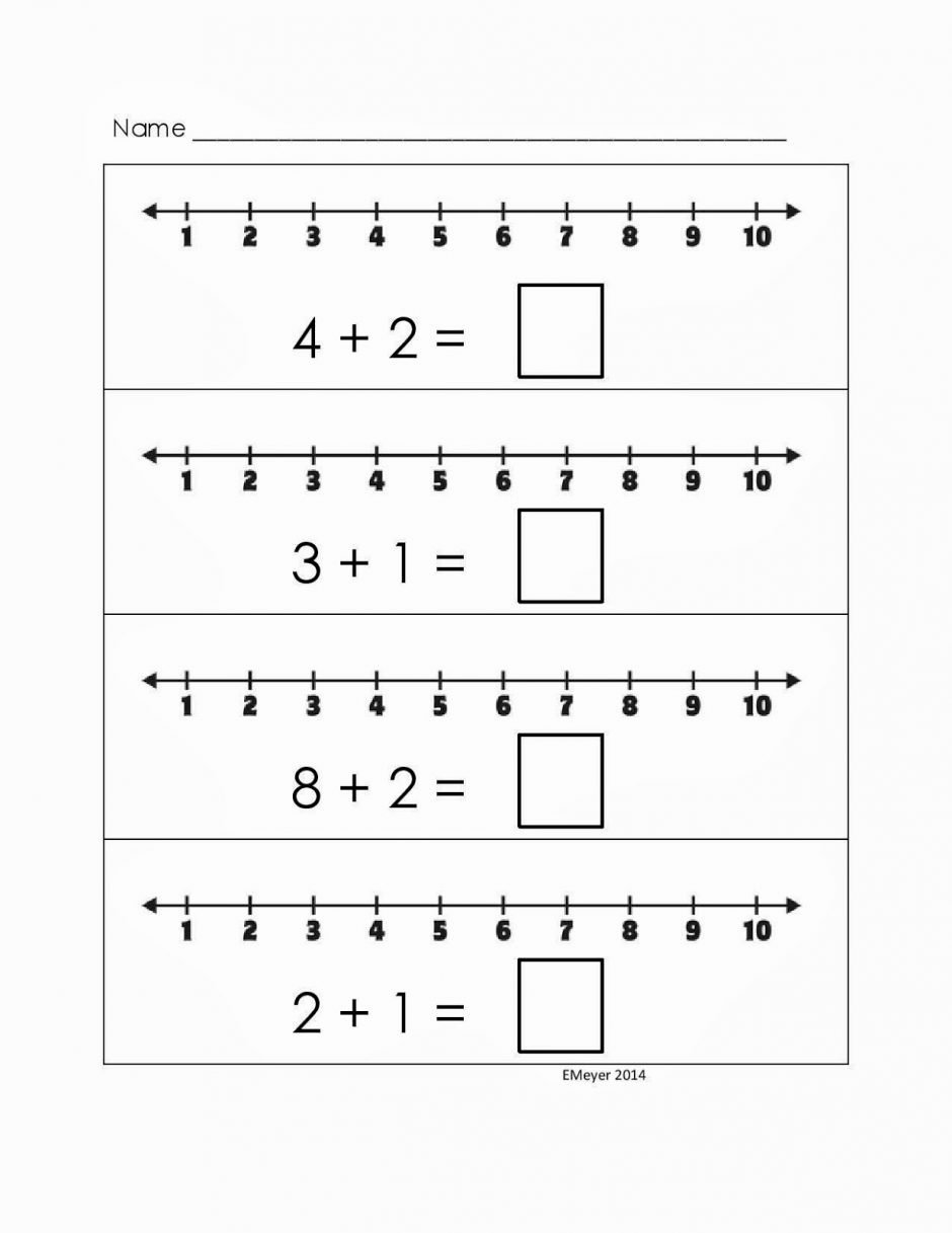 Number Line Worksheets for Preschoolers Beautiful Number Line Worksheets for Free Download Number Line