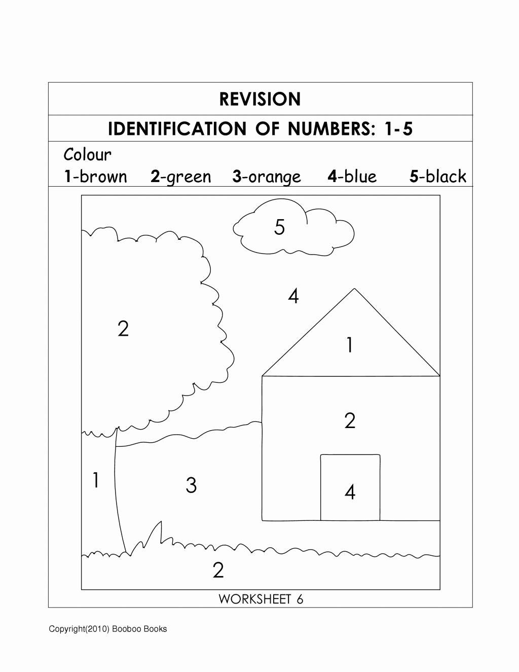 Number Recognition Worksheets for Preschoolers Fresh Number Recognition Worksheets & Activities