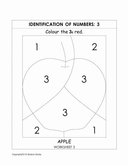 Number Recognition Worksheets for Preschoolers top Kindergarten Number Recognition Worksheets – Mreichert Kids