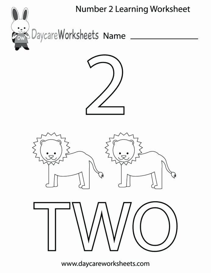 Number Two Worksheets for Preschoolers Best Of Coloring Pages 54 Amazing Number Worksheet for toddlers