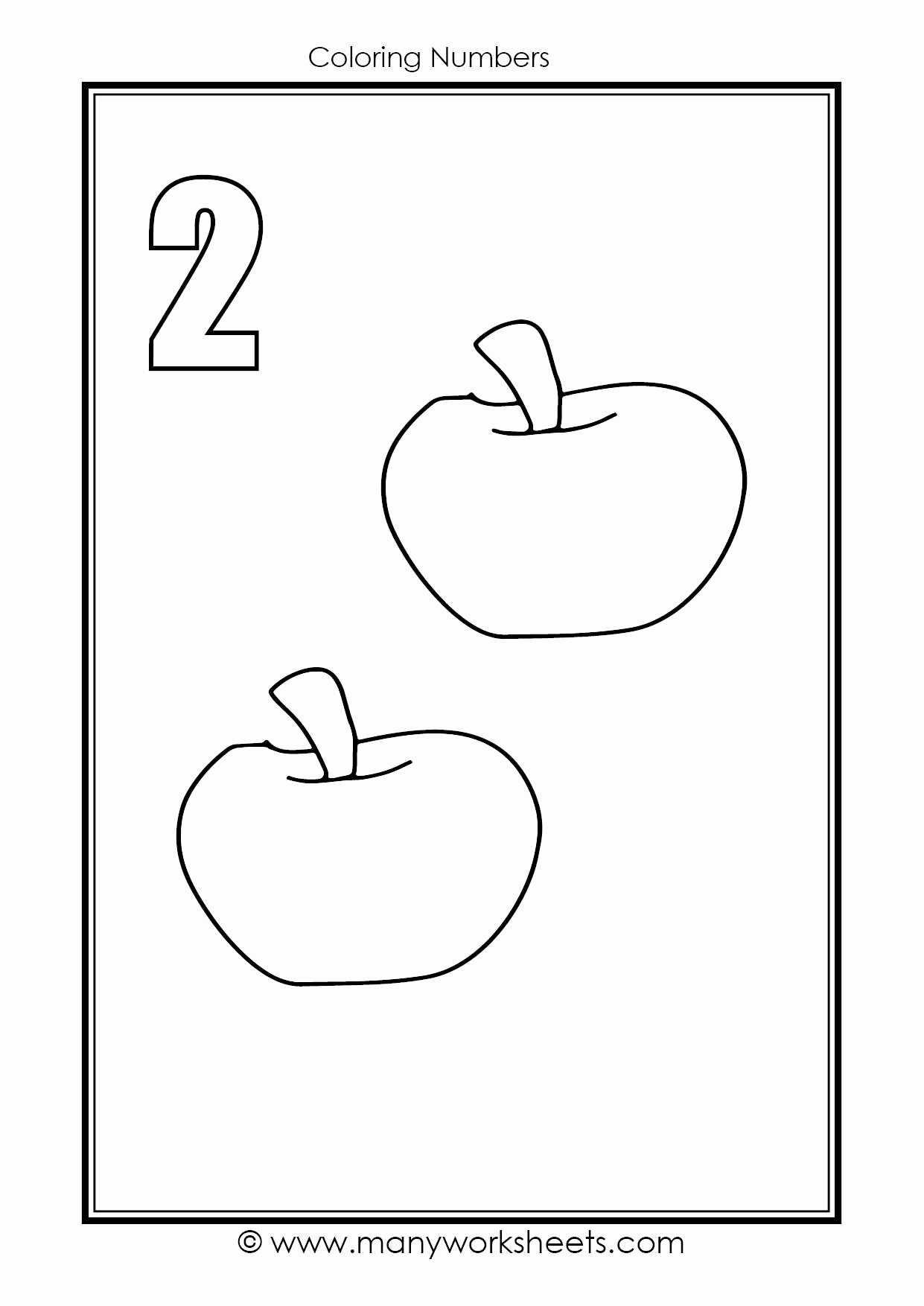 Number Two Worksheets for Preschoolers Best Of Worksheets Number Coloring Worksheet Tracing and Two