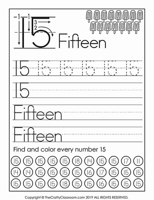 Numbers Worksheets for Preschoolers Fresh Preschool Number Worksheets Preschool Mom