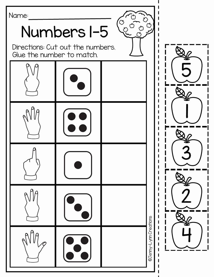Numeracy Worksheets for Preschoolers Inspirational This Back to School Math and Literacy Packet is Perfect for
