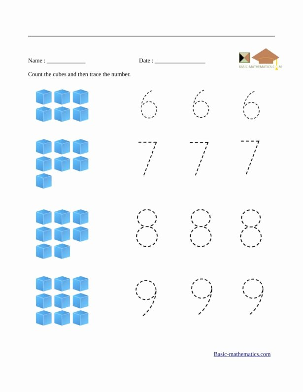 Numeracy Worksheets for Preschoolers Lovely Preschool Math Worksheets Worksheets Grade Numeracy