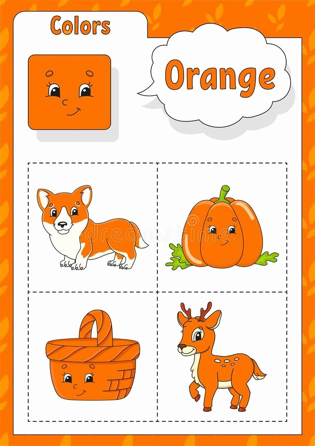 Orange Worksheets for Preschoolers top orange Worksheet Stock Illustrations – 1 325 orange