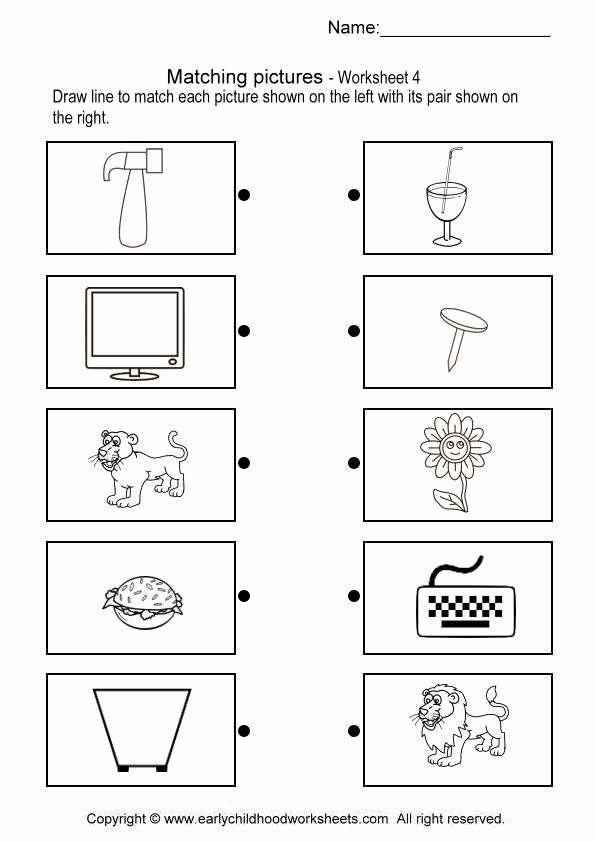 Pairing Worksheets for Preschoolers Inspirational Math Brain Teaser Pair 4