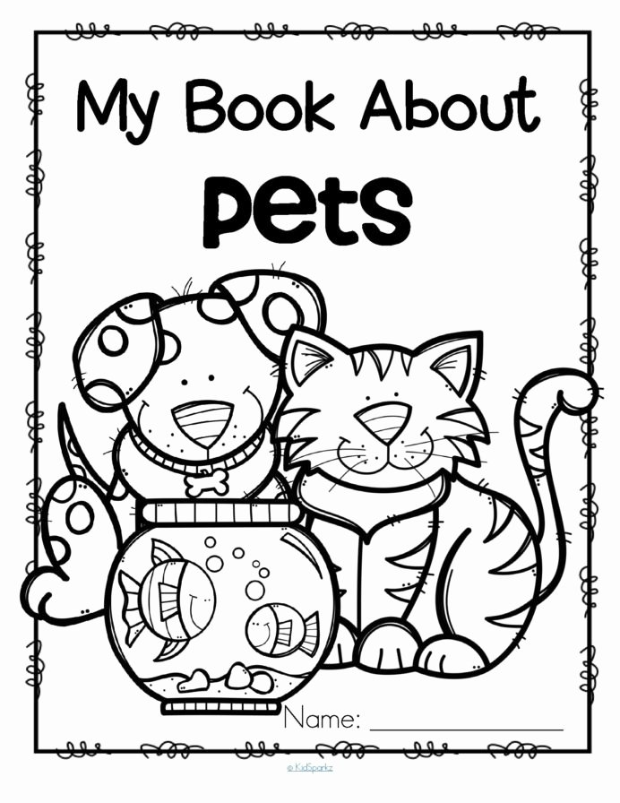 Pet Animals Worksheets for Preschoolers top Animal Book Worksheet Printable Worksheets and Activities