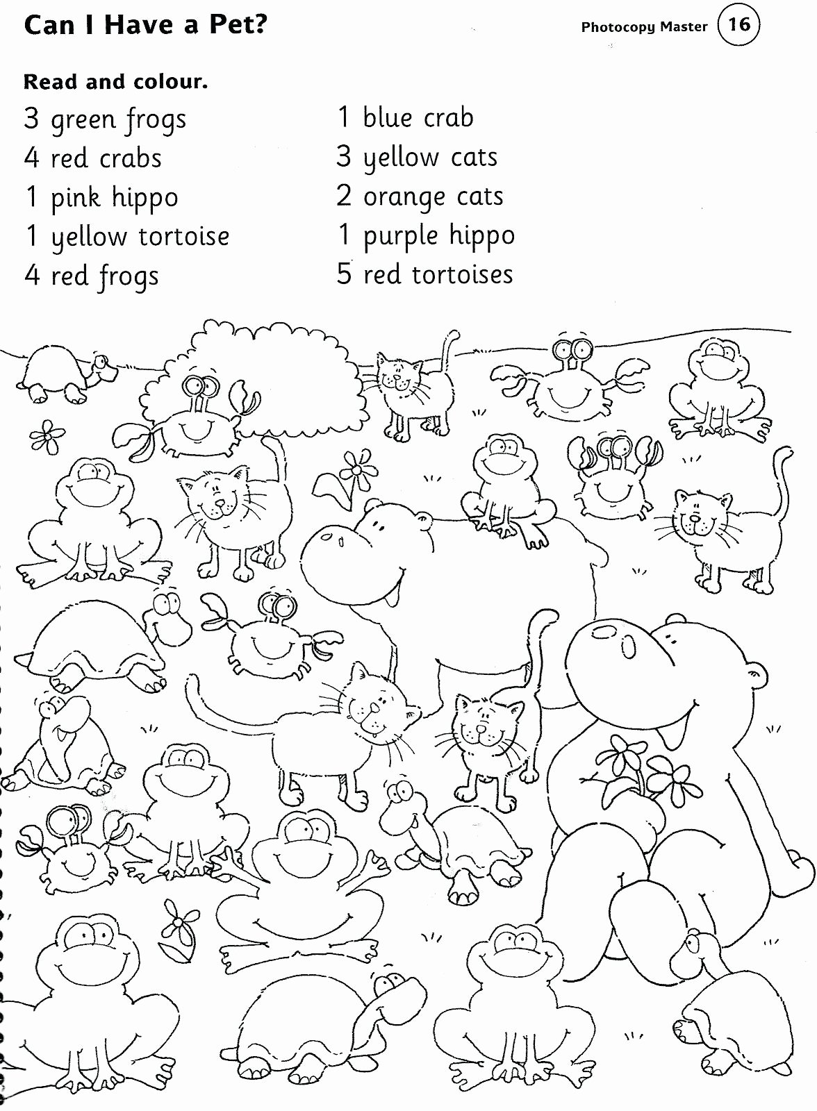Pet Animals Worksheets for Preschoolers Unique Animal Printable Worksheets Pet Farm and Zoo Animals
