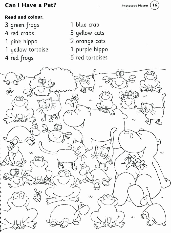 Pet Worksheets for Preschoolers New Animal Printable Worksheets Pet Farm and Zoo Animals