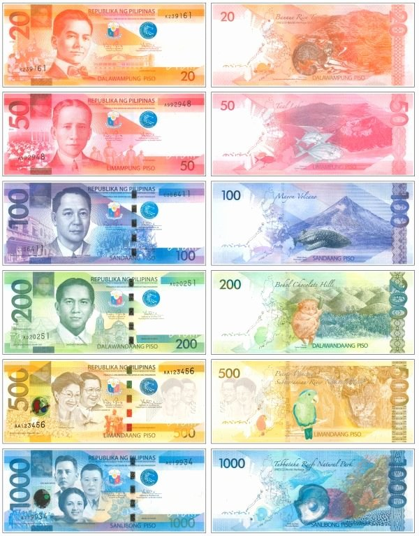 Philippine Money Worksheets for Preschoolers Fresh the New Generation Philippine Banknotes 600—766 Pixels