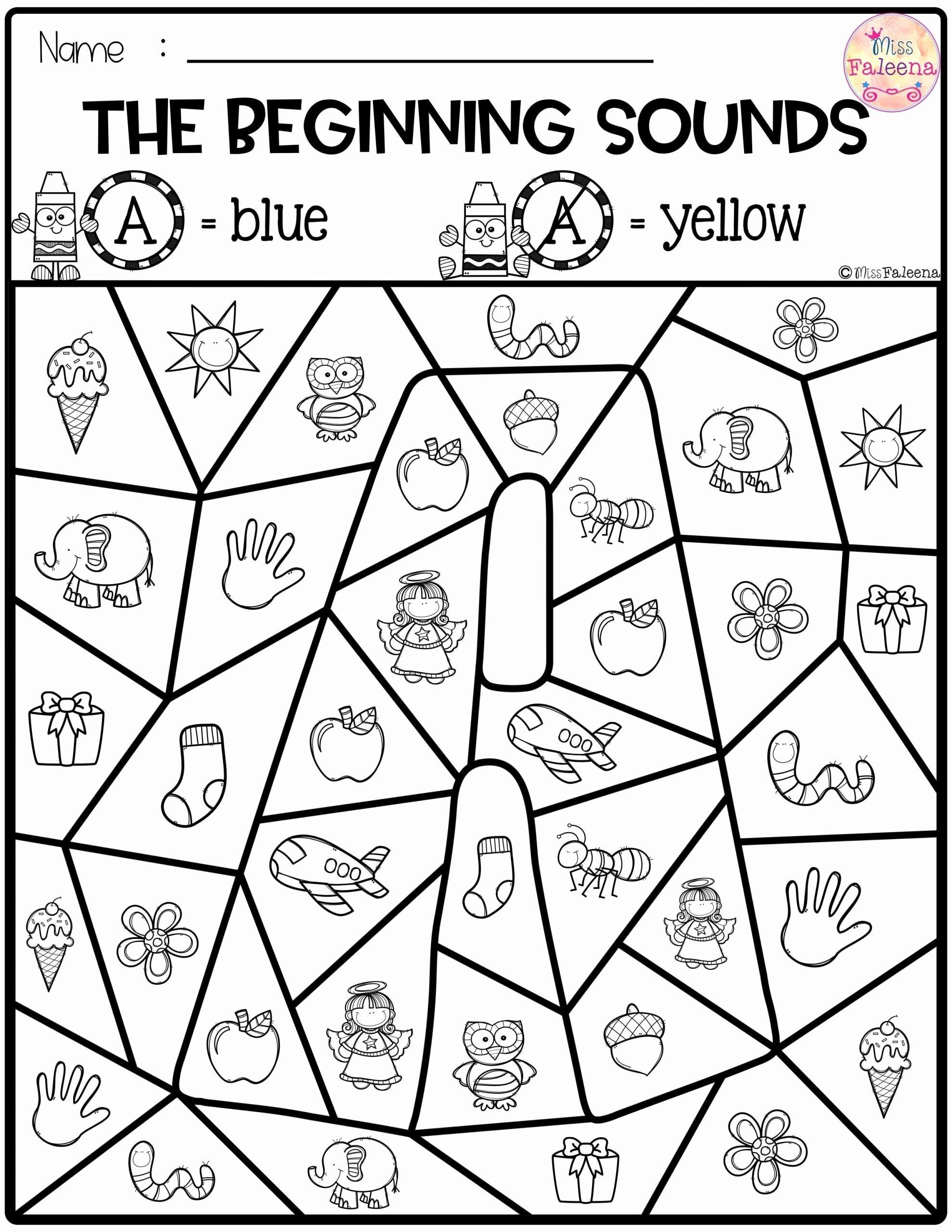 Phonics Worksheets for Preschoolers Fresh Worksheet Free Preschool Kindergarten Worksheets Beginning